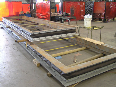 Large Rectangular Fabric Expansion Joint