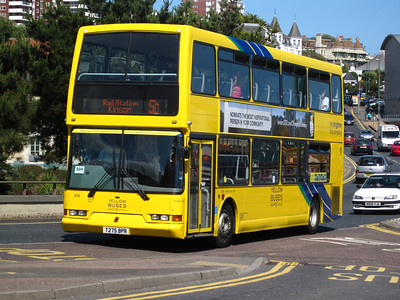Yellow Buses in former operator livery