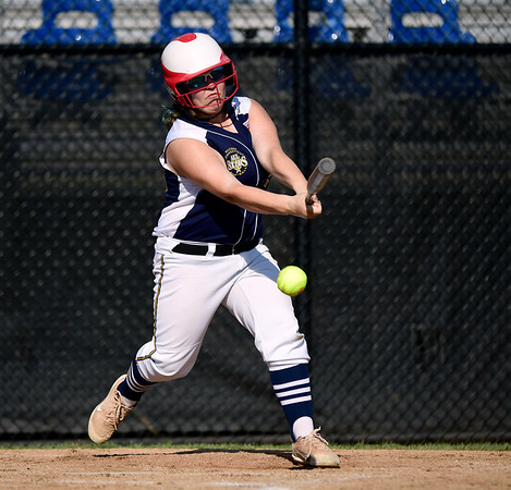 7/24/2019 Mike Orazzi | Staff Connecticut's Teagan Mulvihill (99) during Wednesday's Little League softball game at Breen Field in Bristol.