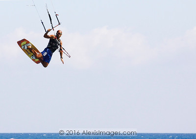 Kitesurfing at Avdimou (edited)