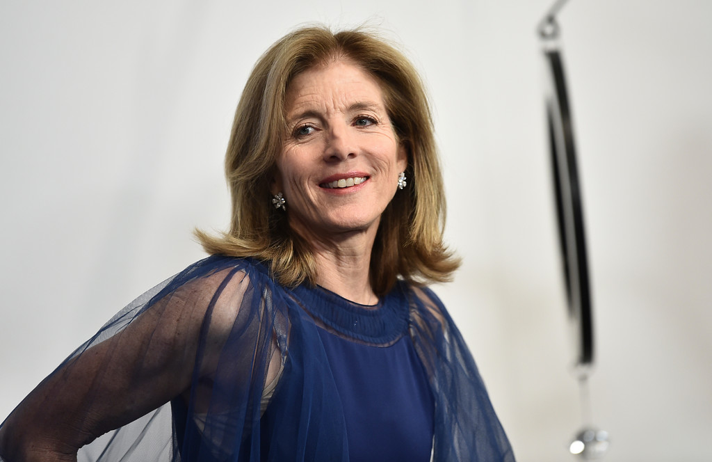 . Caroline Kennedy poses in the winner\'s walk at the CFDA Fashion Awards at the Brooklyn Museum on Monday, June 4, 2018, in New York. (Photo by Evan Agostini/Invision/AP)