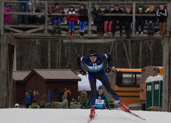 WUHS Nordic Ski Team at States