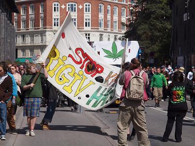 Worldwide Marijuana March 2012 i København