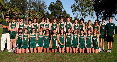 2008 Cross Country Team Photo