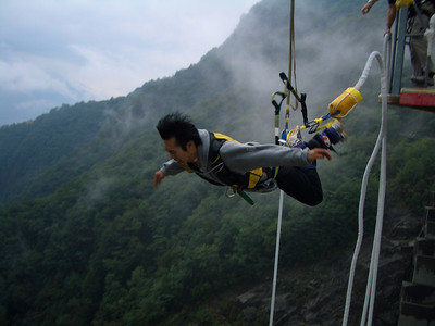 August 27, 2005 Bungee Jump
