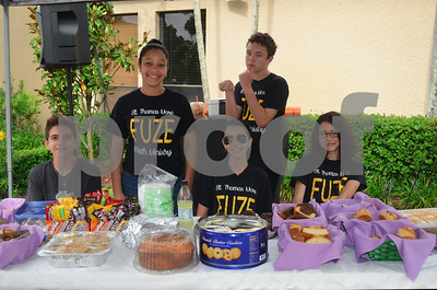 Youth Group Bake Sale 2015