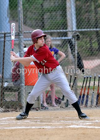 Central VS Tulpehocken Baseball 2009-2010