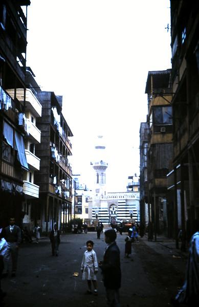 1960-2-18 (5) Street in Port Said, Eygpt.JPG