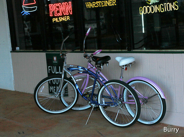 The Fletcher's mode of transportation from Coasters Pub!