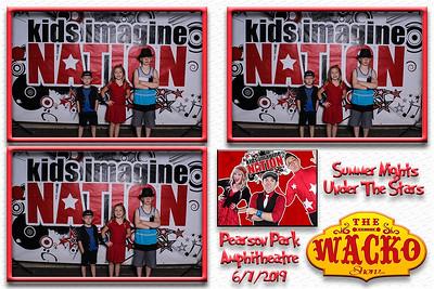 Kids Imagine Nation - Summer Nights Under The Stars - Pearson Amphitheatre - 6-7-19