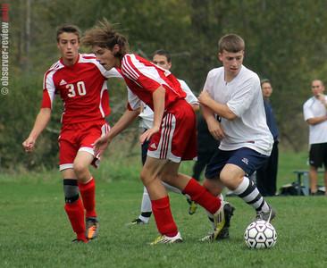 Watkins Glen boys soccer 10-5-12