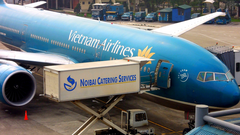 Vietnam Airlines, 777-200ER (VN-A147), Noi Bai International, Hanoi