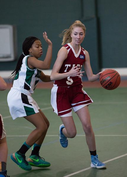1/10/18: Girls' JV Basketball vs Deerfield