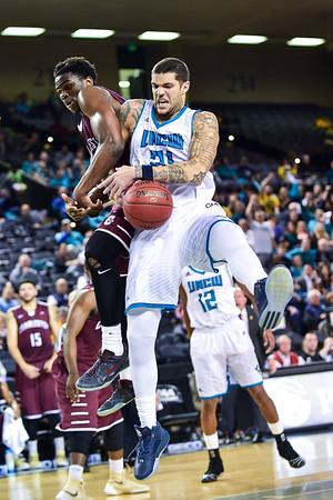2016 CAA Tournament #2 UNC Wilmington 66 vs #7 College of Charleston 64