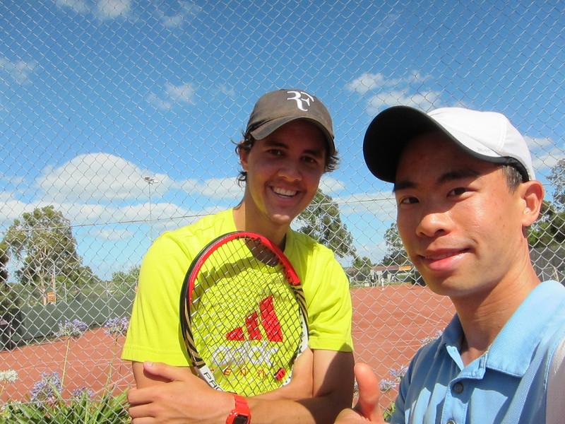 JC with Chadstone CC's Josh