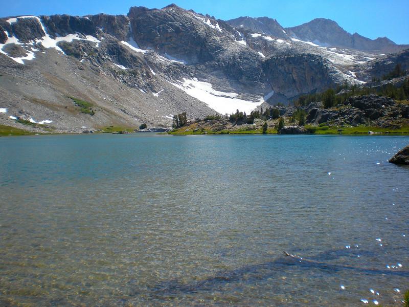 Greenstone Lake (el. 10,127 ft.), Mt. Conness far back.