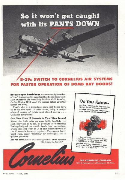 Cornelius Air Compressor For Sale