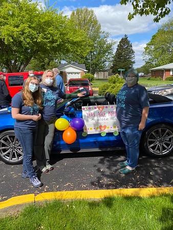 Celebration Parade for Otterbein Franklin SeniorLife Community: May 12, 2020