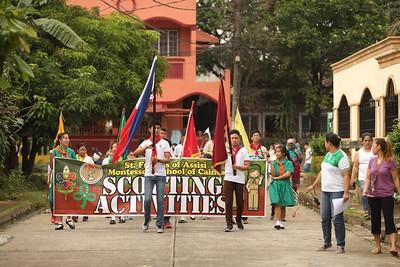 Scouting Opening Parade 2017-2018