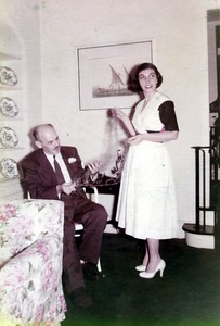 Milt & Isabelle - July 4th, 1954