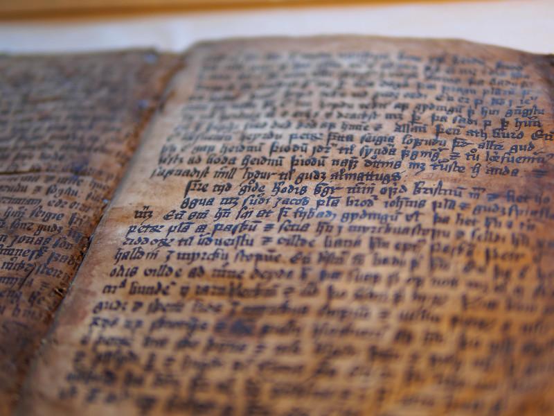 The Arnamagnæan Institute at the University of Copenhagen holds many original copies of the Icelandic Sagas
