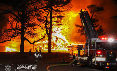 Multiple Alarm Theater Fire - 320 Shore Rd, Stratford, CT - 1/13/19