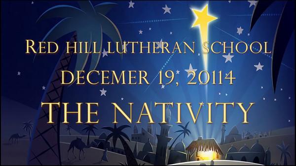 2014-12-19 RHLS K & 1st Grade Christmas Program