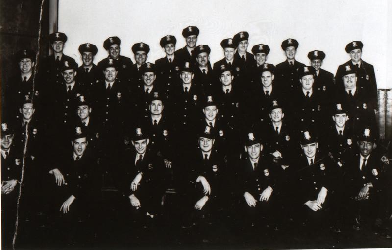 1940's Sworn Class photo