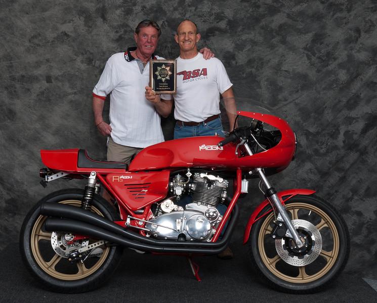 Brent Lenehan, Winner of Contemporary 1984-Present - 2012 Magni R3
