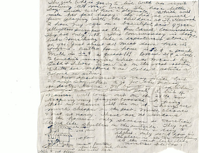 Mother's letter on Panama