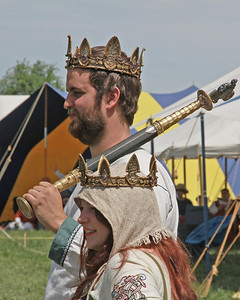 An Tir Crown Tourney - Procession
