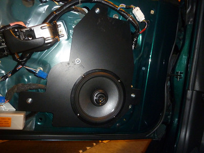 1996 Nissan 300ZX TT with Bose Front Door Speaker Installation - USA