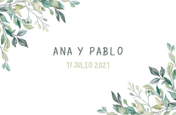 Ana & Pablo - 17 julio 2021
