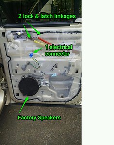 2004 Dodge Dakota Quad Cab Front and Rear Speaker Installation - USA
