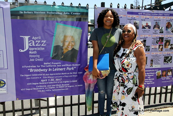 April - Jazz Appreciation Month. Broadway in Leimert Park . 4-30-2017