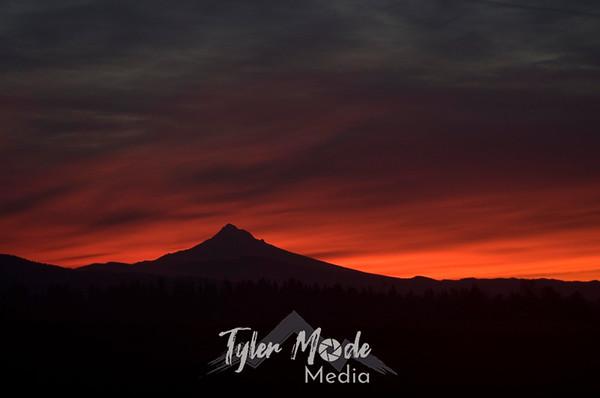Sunrise, Mt. Hood 1.2.11