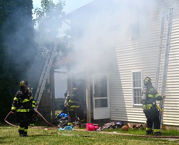 Apartment Fire - Waverly Place, Rochester, NY - 7/5/20