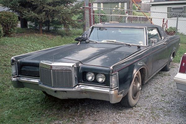 1969 Lincoln Mark III .  .  .