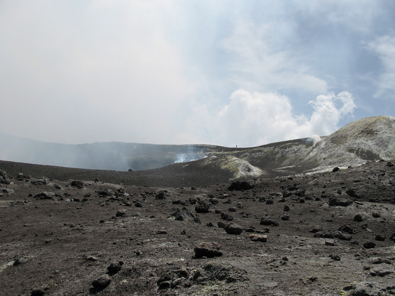 Fumeroles on top of Mt Etna