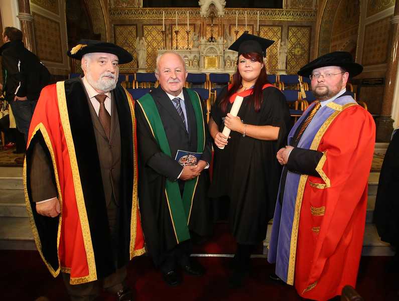 Pictured is Julie Lennon, Waterford who graduated Higher Cert in Arts in Culinary Arts. Picture: Patrick Browne.