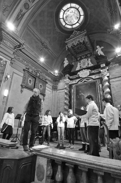 Ricordando Tullio Contino - Coro giovanile Gaiamusica, direttore Renato Contino, pianoforte Alice Botta, Pinerolo, sala concerti Italo Tajo, Chiesa di San Giuseppe, 19 gennaio 2013