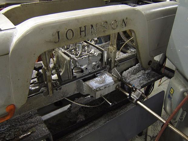 cutting VQ35 cylinder head