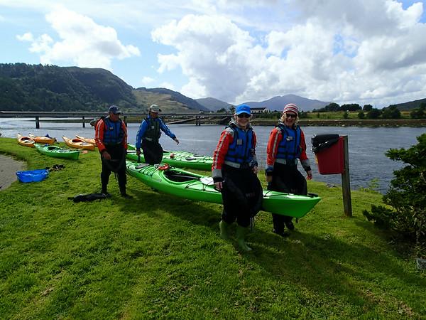 Sea Kayak Trail North 9-14 Aug 2014