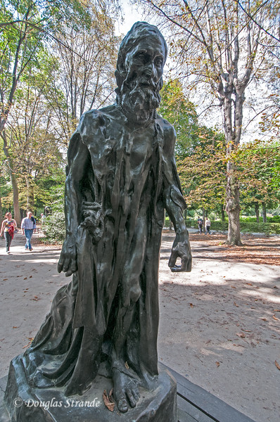 Sculpture at the Rodin Museum