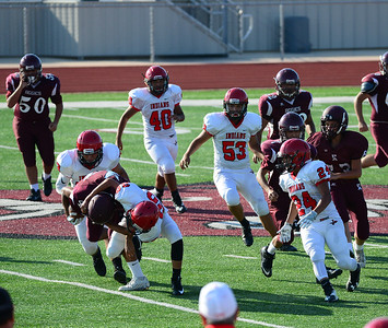 Jourdanton JV Football V. Poteet