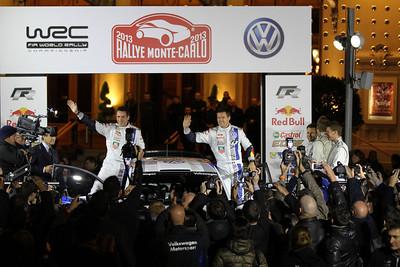 Présentation VW Polo R WRC à Monaco