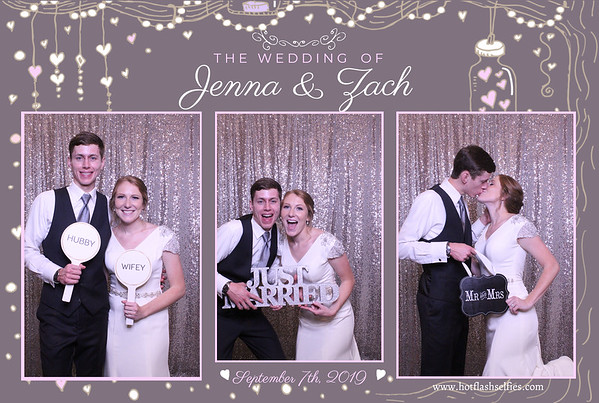 Jenna and Zach