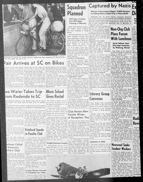 Daily Trojan, Vol. 33, No. 23, October 13, 1941