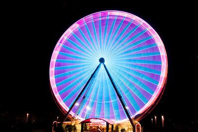 11.11.2012-Riesenrad Essen Lichterwochen