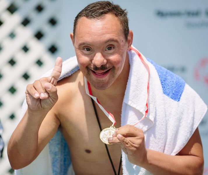 Special Olympics Athletes